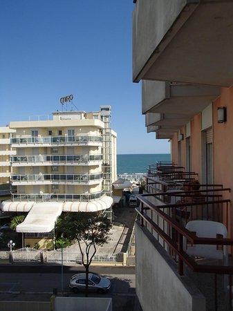 Nelson Hotel: Widok z pokoju