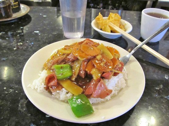 Brandy Ho's Hunan Food : Mmm, smoke ham again