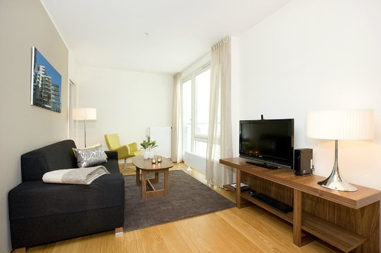 Tjuvholmen Suites: Standard apartment  - living room