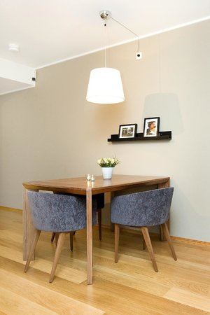 Tjuvholmen Suites: Superior apartment - dining room