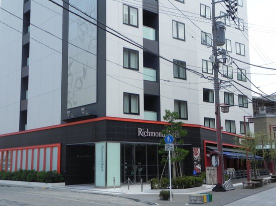 Richmond Hotel Asakusa: hotel front view
