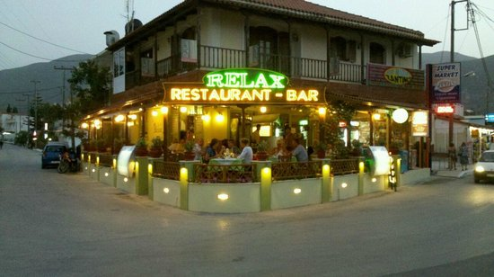Relax Restaurant: front