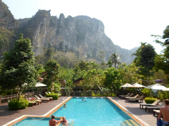 Aonang Phu Petra Resort, Krabi: View from room