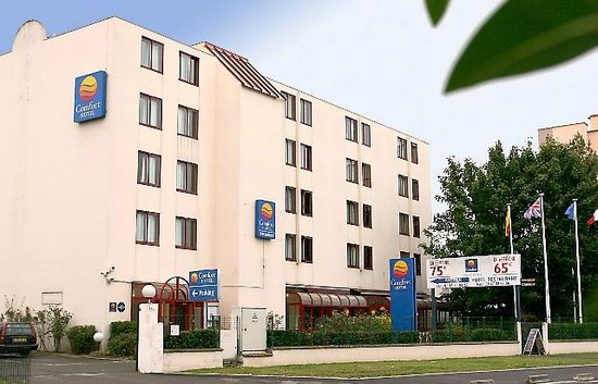 Hotel Gallieni: Exterieur Comfort Hotel Gennevilliers