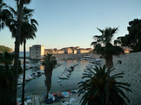 Dubrovnik Bed and Breakfast: Harbour view