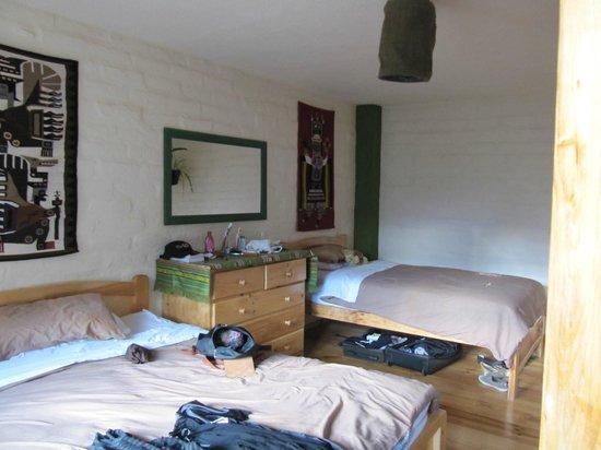 La Casa Verde- Eco Guest House: our room