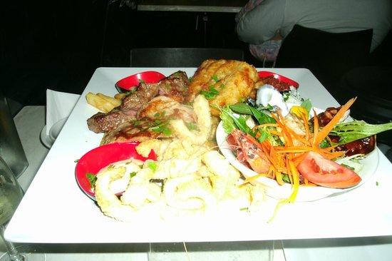 Sage Cafe Restaurant: Seafood Platter