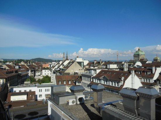 Hotel Schweizerhof Bern & THE SPA: View from our hotel room on the sixth floor
