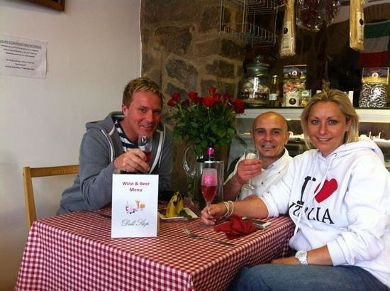Deli Stop: from left Paul, Michele and Mandy!!