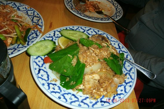 Wasdee Surfers Thai: Thai Fried Rice