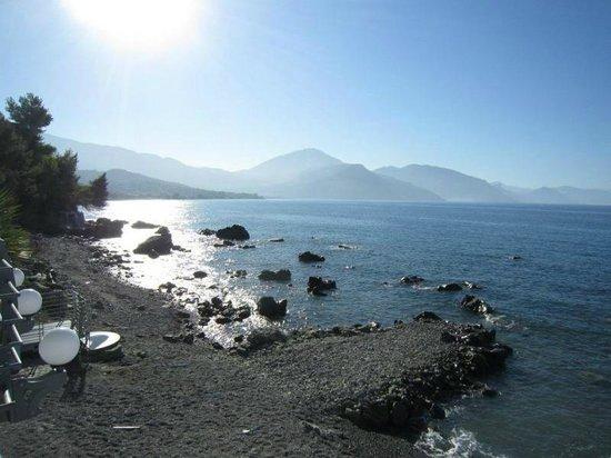 Terrazza Capitello: Il mare e lo spettacolo all'orizzonte