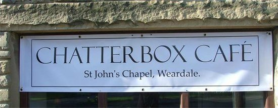 Chatterbox Cafe: Chatterbox Sign