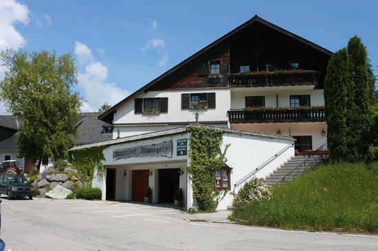 Almgasthof Windlegern vom Parkplatz