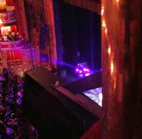 Bristol Hippodrome: Seat View from Upper Circle (seats 3-4)