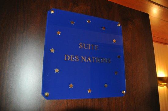 Hilton Strasbourg: Entrée