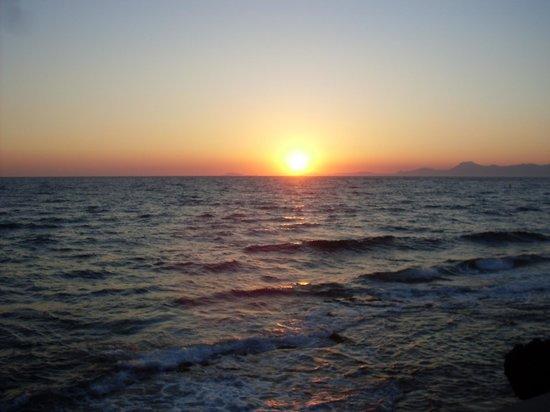 Hotel Costa d'Oro : tramonto