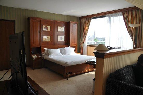 """Hilton Strasbourg: partie """"sommeil"""" de la chambre"""