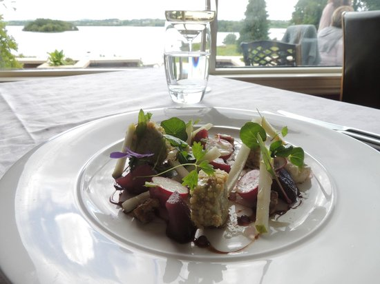 St Kyrans Country House & Restaurant: PEAR & BLUE CHEESE
