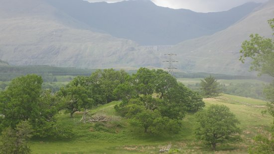 Ardbrecknish House & Self Catering Accommodation: View from our window