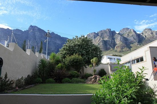 3 On Camps Bay Boutique Hotel: View from our room patio