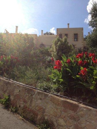 Maria Villas: Beautiful gardens