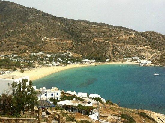 Hotel Katerina: Beach view