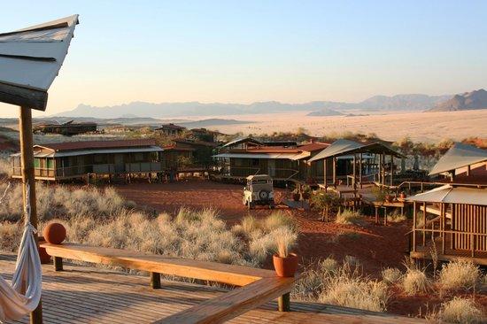 Wolwedans Dunes Lodge: zona comune