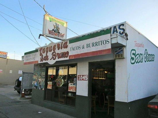 Taqueria San Bruno: Outside