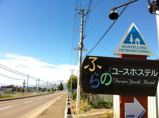 Furano Hostel: Way to hostel
