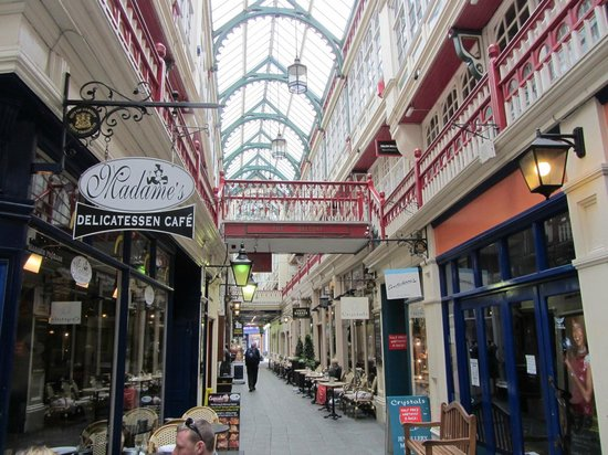 Castle Arcade, Cardiff - home to Madame Fromage