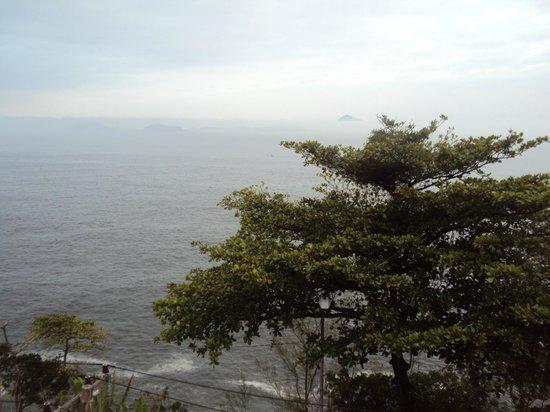 Vidigal Hostel Bar: Vista praia do Vidigal