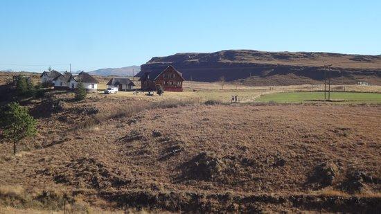 Khotso Adventure Farm: View from the mtb trail