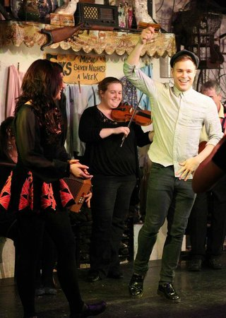 Johnnie Fox's Pub: Olly Murs gets a few lessons