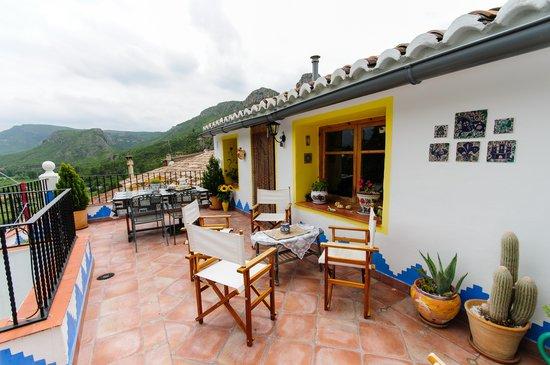 The Terrace at La Casa Serena