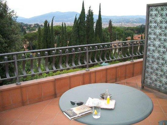 Villa Belvedere - Florence: veranda