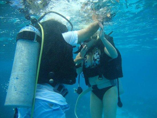 Buceo Caribe Azul: Aprendiendo a bucear