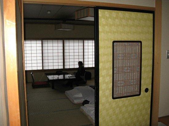Ueda Onsen Hotel Shoen: 別棟 松平 前室より撮影