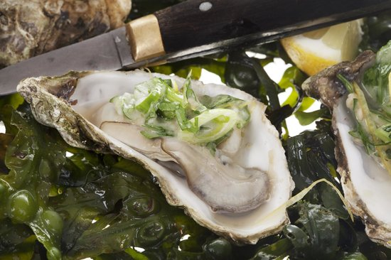 Oscar's Seafood Bistro: Hot oysters
