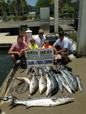 reel deal offshore fishing ponce inlet fl omd men