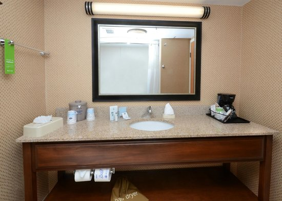 Hampton Inn Raleigh Durham Airport: Guest Bathroom