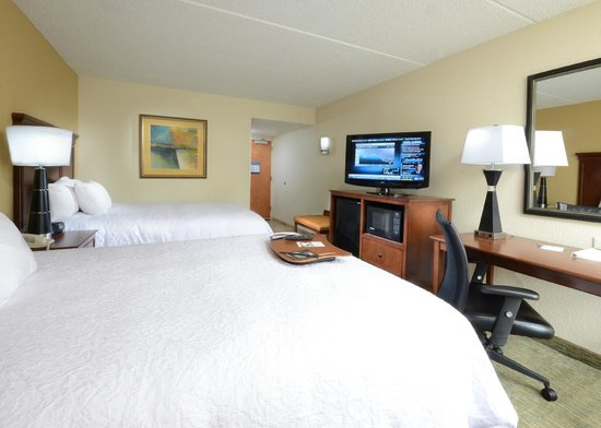 Hampton Inn Raleigh Durham Airport: Double/Double Guest Room