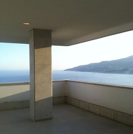 Yalta Intourist Hotel: Hotel's roof view