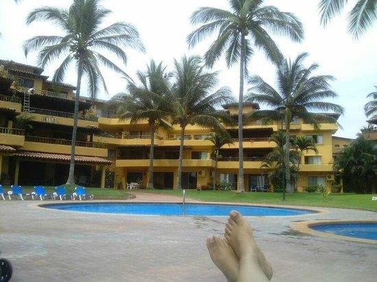 Los Tules Resort: una de las albercas