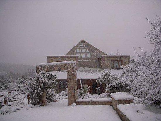 Piramides Andinas: Winter, ski season