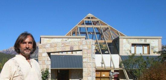 Piramides Andinas: main pyamid glass roof