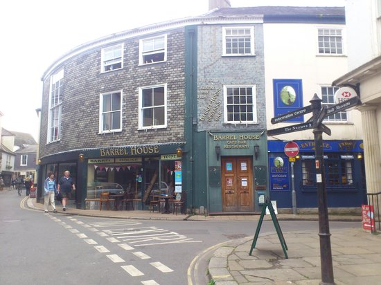 The Barrel House frontage.