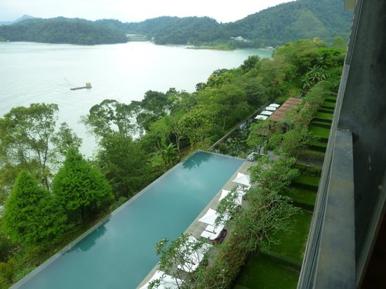 The Lalu Sun Moon Lake: 部屋からの眺め