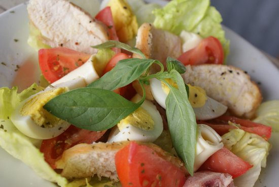 Dockside Shack: Mouth watering salads