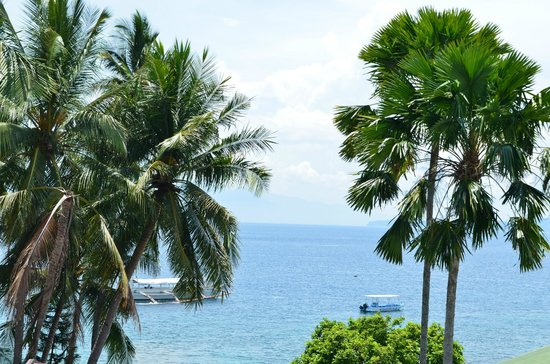 Out of the Blue Resort: Veranda view