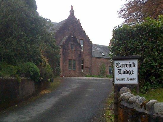Carrick Lodge Guest House : Horror movie stuff